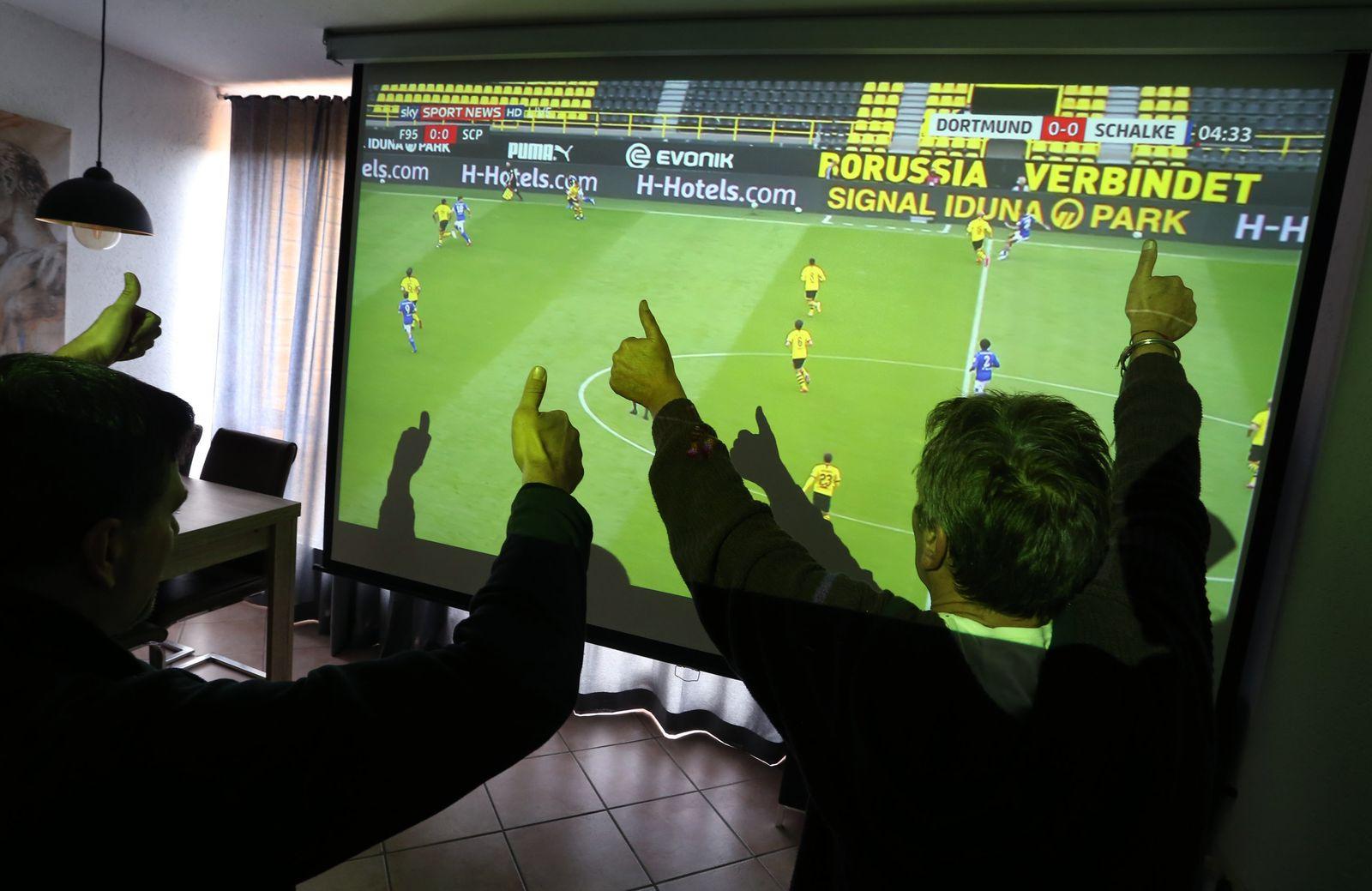 Coronavirus - Fernsehübertragung Fußball Bundesliga