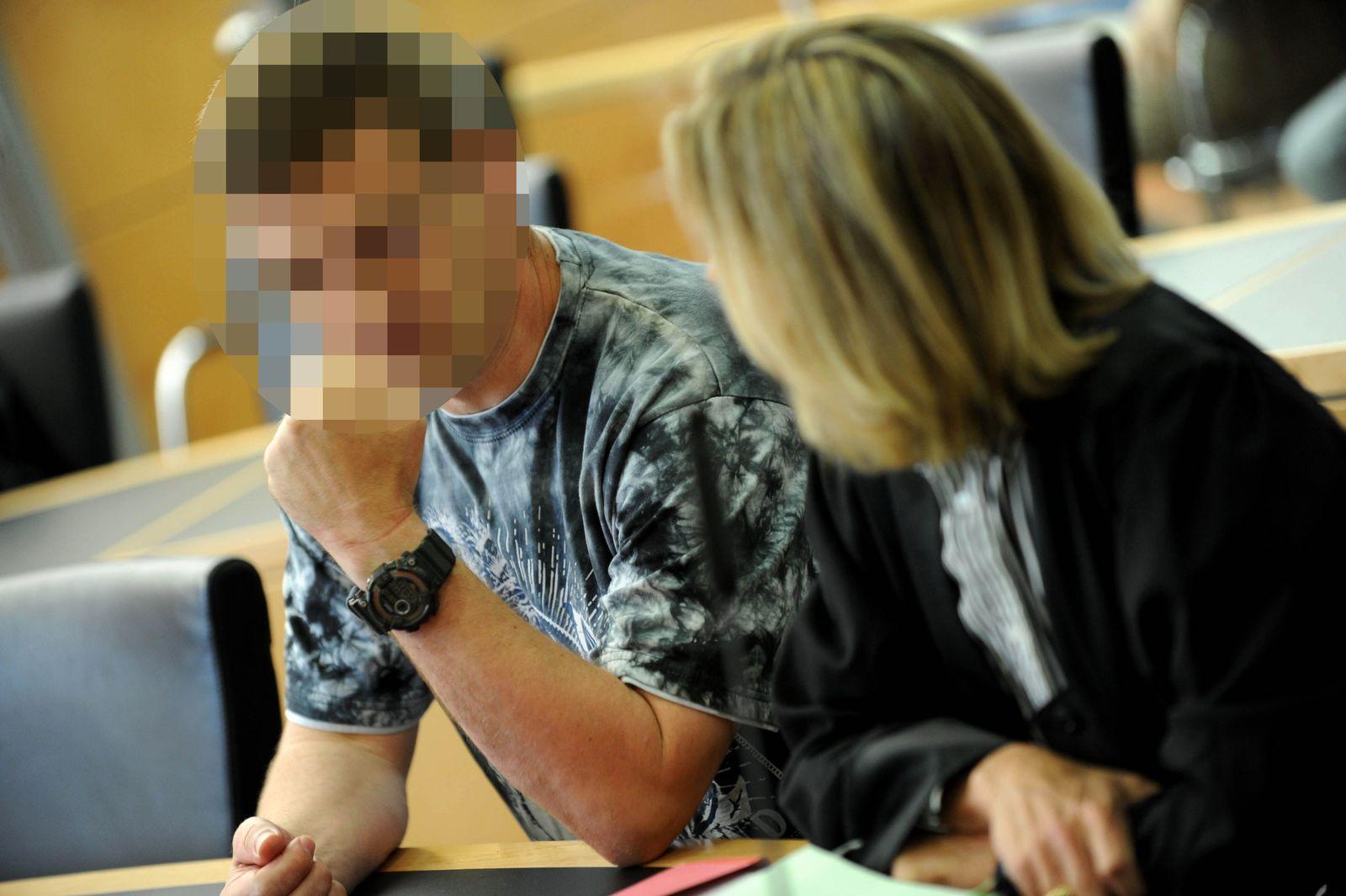 NICHT VERWENDEN Prozess / Bombenleger von Viernheim