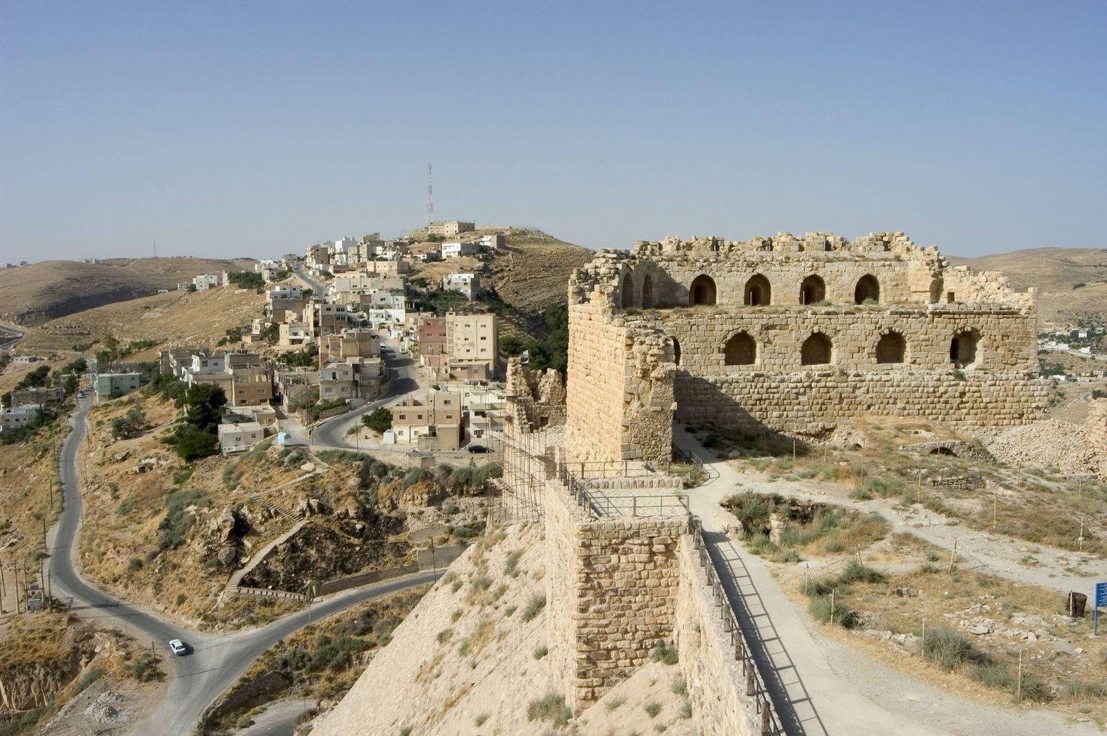 EINMALIGE VERWENDUNG Jordanien/ Anschlag/ Burg Kerak