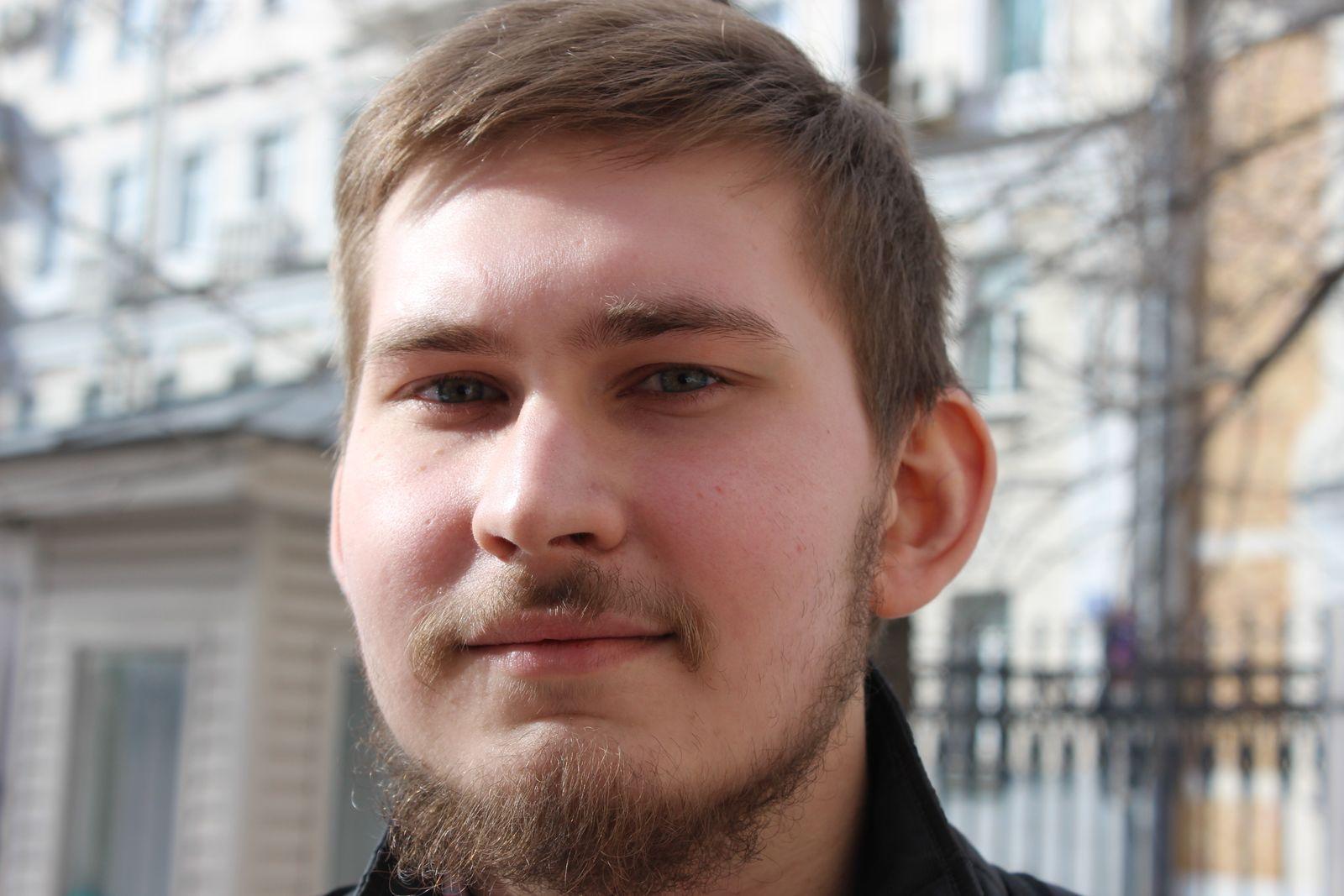 EINMALIGE VERWENDUNG Russland / Moskau / Protestgeschichte / junge Leute