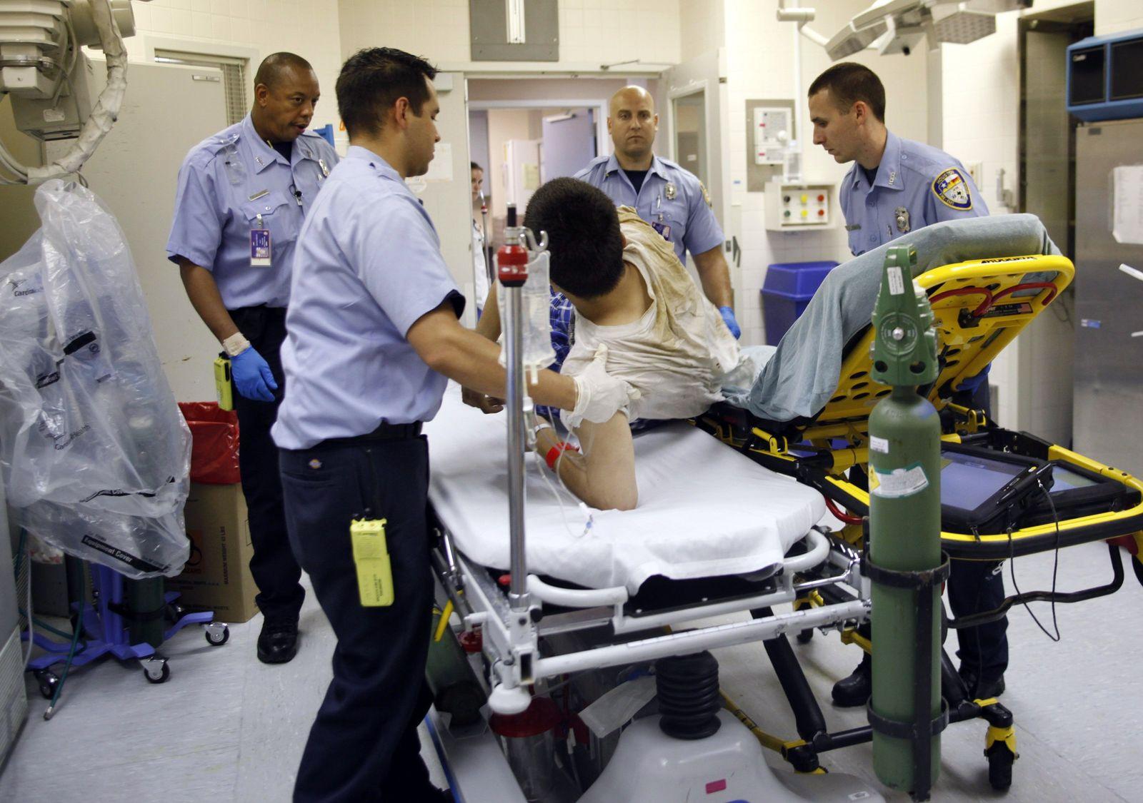 USA Krankenhaus Notaufnahme