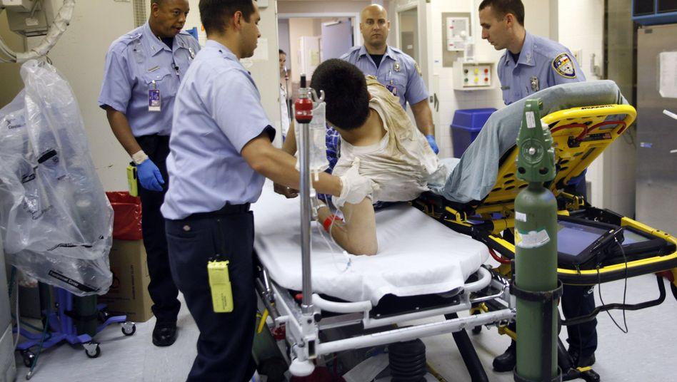 Notaufnahme eines Hospitals in Houston (Texas, Juli 2009): Schlechtere gesundheitliche Versorgung für Unversicherte