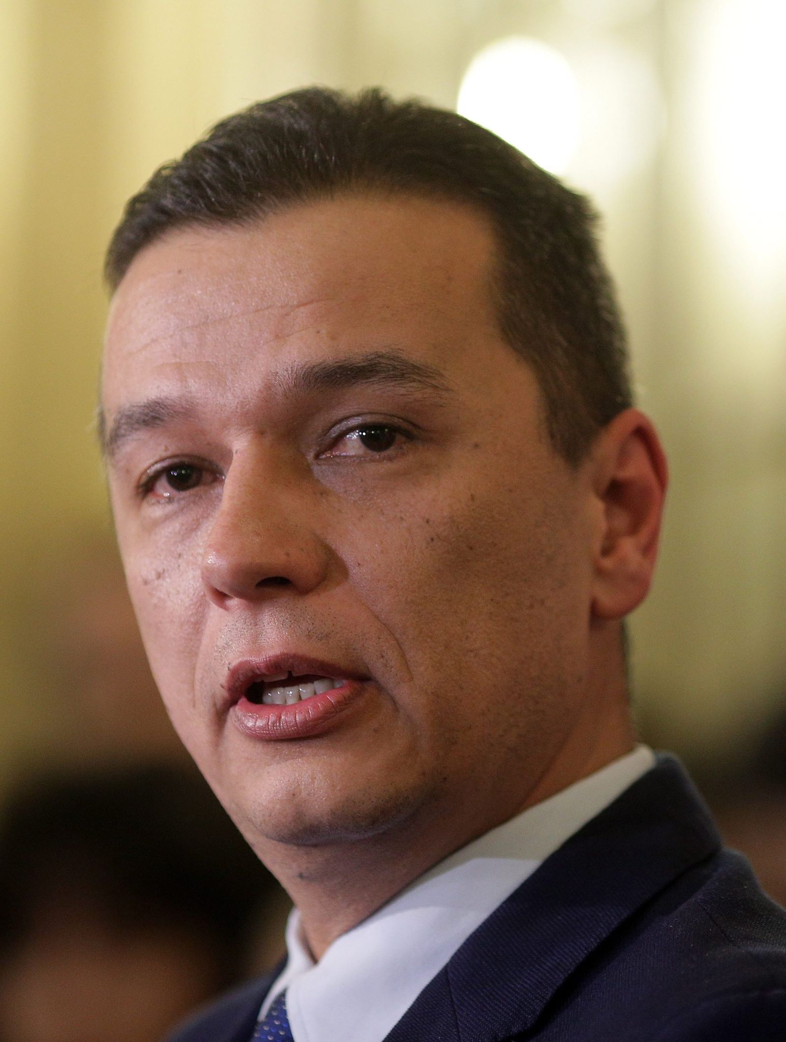 Former telecommunications minister Sorin Grindeanu is PSDs new