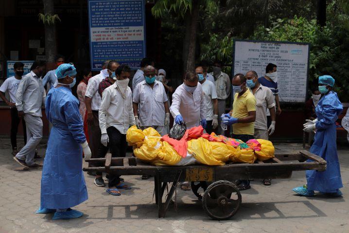 Indien verzeichnet weltweit die zweitmeistenFälle. Am stärksten betroffen sind die USA.