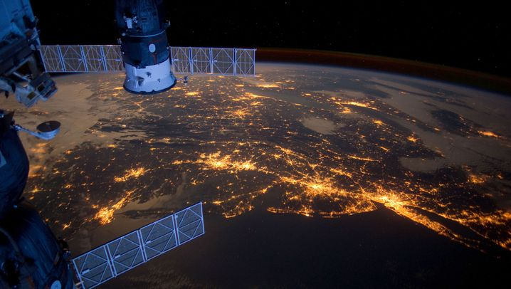 Live-Video aus dem All: Die ISS-Webcam
