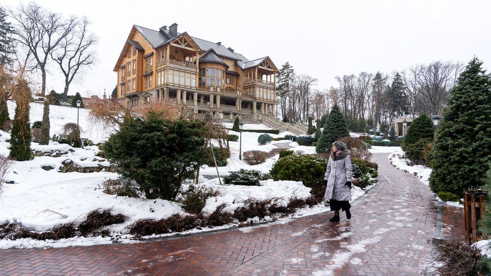 Die Ukraine fünf Jahre nach dem Maidan: Die Luxus-Residenz Meschyhirja