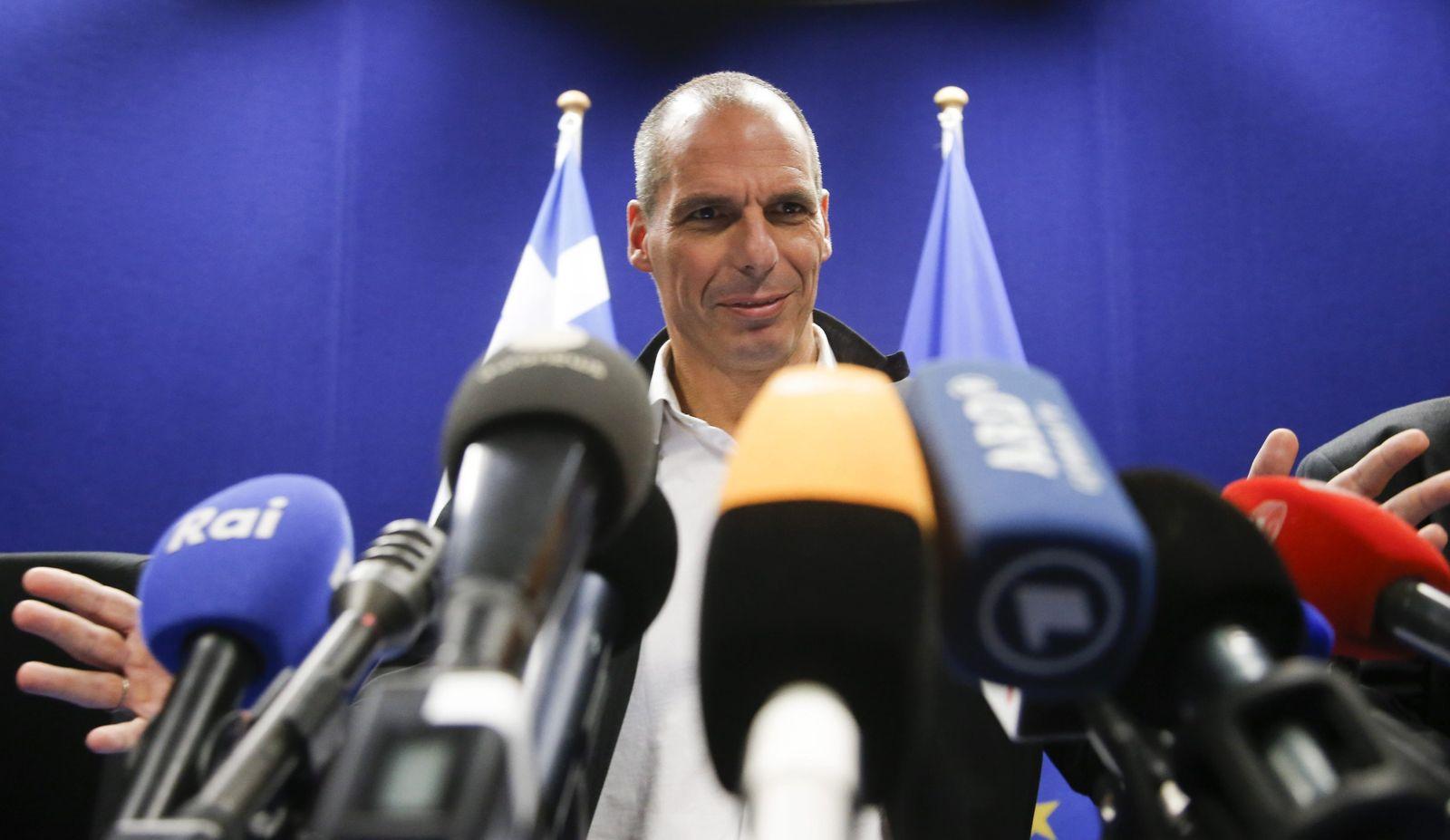 Giannis Varoufakis Brüssel