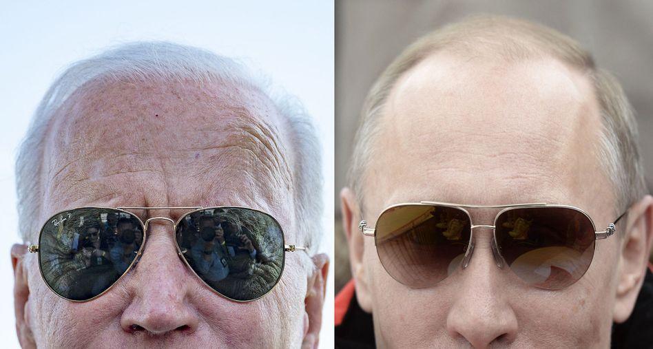 Präsidenten Biden, Putin: »Er weiß, dass er in Schwierigkeiten steckt«