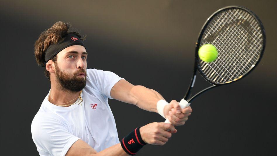 NikolosBasilaschwili (Archivbild): Vorwürfe gegen den Tennisspieler