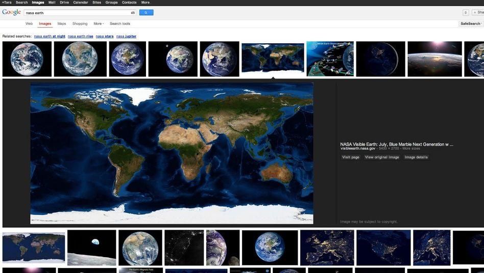 """Neue Bildersuche bei Google: """"Webmaster können selber entscheiden"""""""