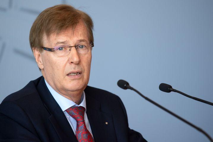 "NRW-Justizminister Peter Biesenbach: ""Zutiefst verstörend"""