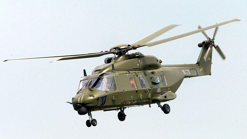 Bundeswehr: Probleme mit Hubschraubern, Kampfjets, Panzern