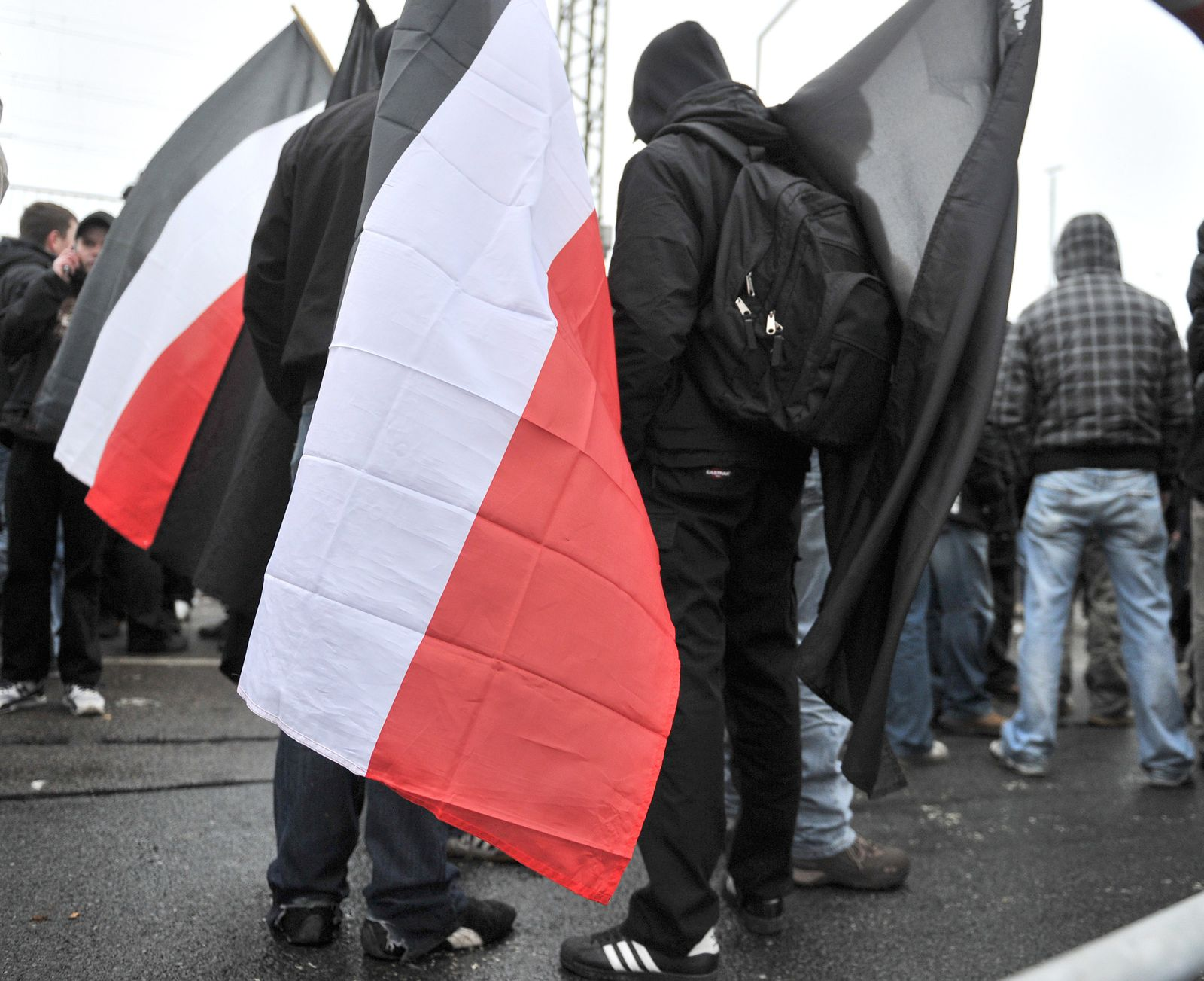 Neonazi-Demo in Dresden