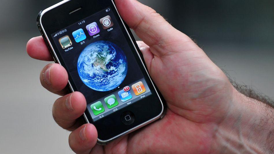 iPhone: Mit GPS-Empfänger und digitalem Kompass lässt sich die Welt erkunden