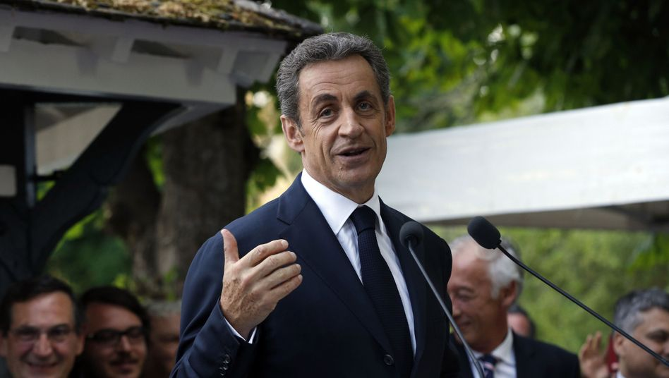 Der frühere französische Präsident Nicolas Sarkozy: Von der NSA ausgespäht