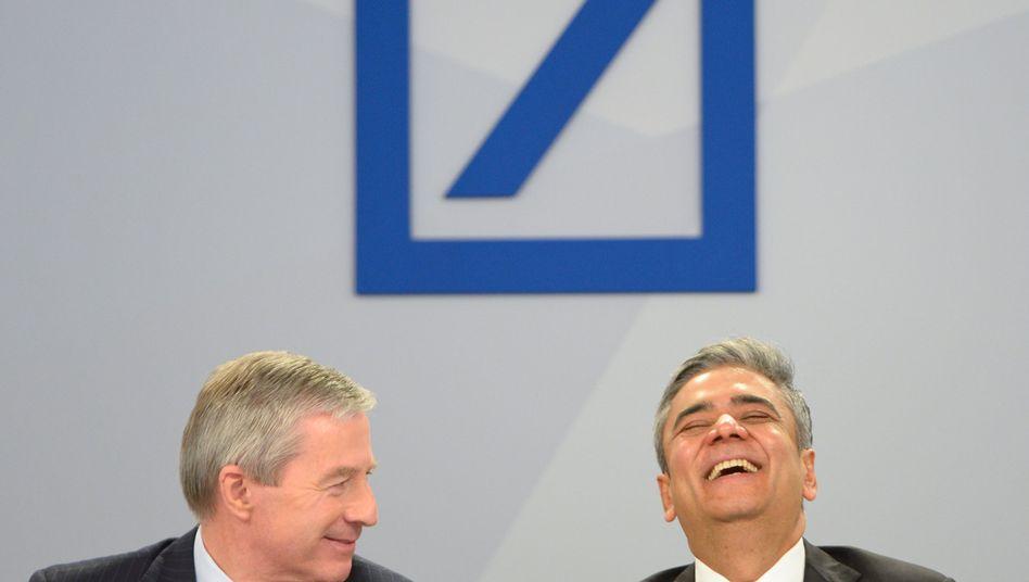 Vorstandschefs Fitschen (l.), Jain (Archivbild): 7,5 Millionen Euro für jeden