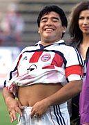Internet-Sieger: Diego Maradona