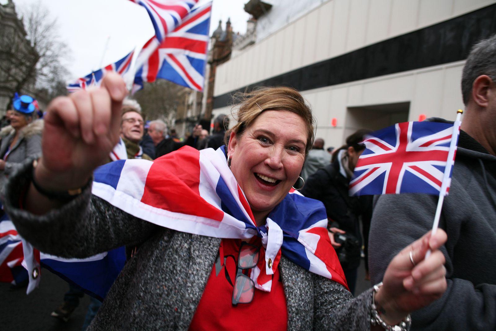 Brexit Day In London