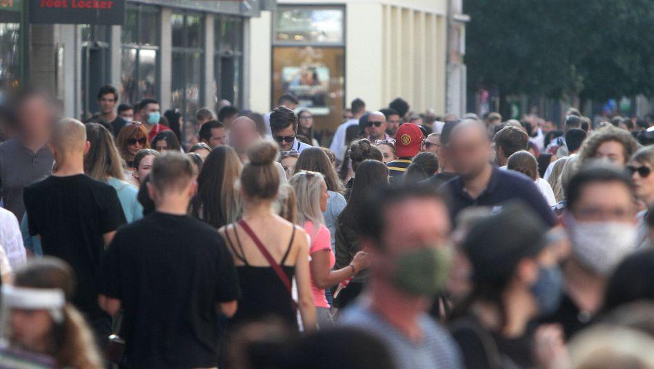 Einkaufsstraße in Düsseldorf: Handel macht deutlichen Sprung nach oben