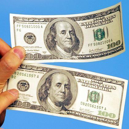 100-Dollar-Scheine: Kauf eines Konservierungsmittels