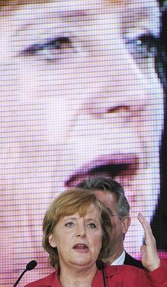Merkel bei Wahlkampfveranstaltung in Braunschweig: CDU-Kreise berichten von einem deutlichen, aber höflichen Telefonat