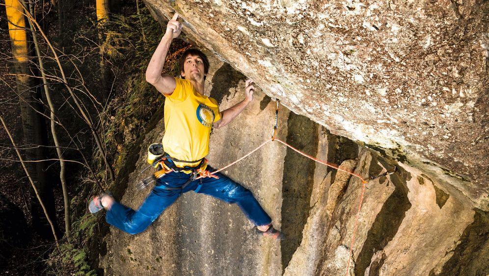 Boulderer Jan Hojer: Die Kunst, einen Felsblock zu erklettern