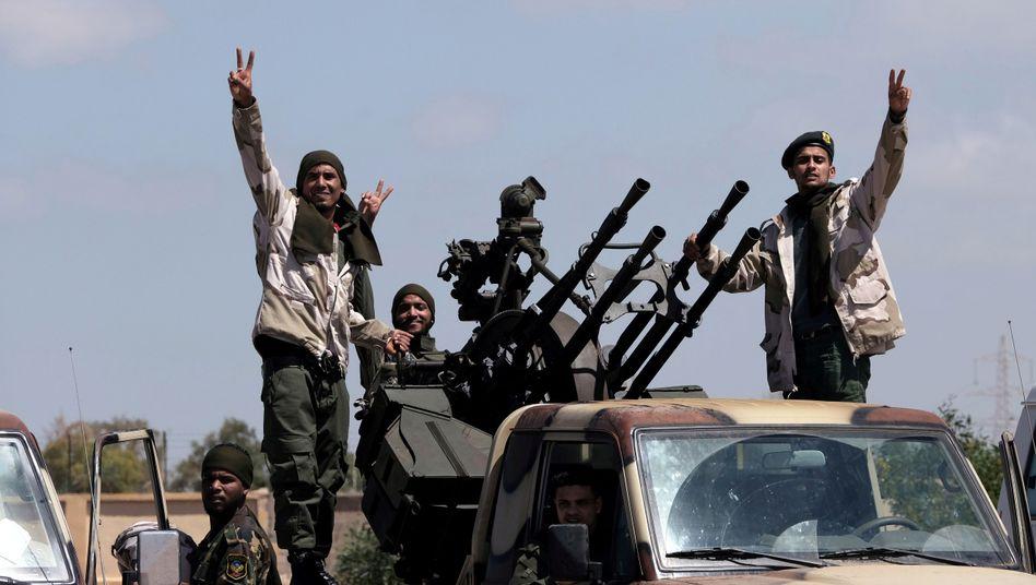 Truppen des Warlords Khalifa Haftar: Militärregime im Osten Libyens