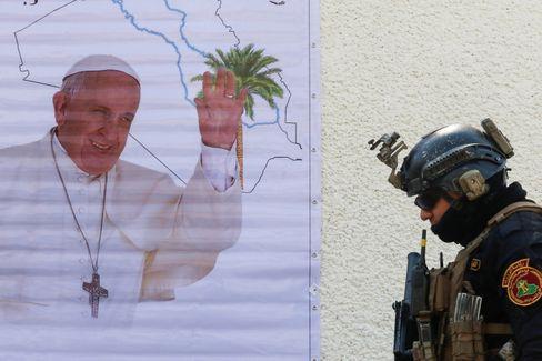 Will im Irak eine Botschaft des Friedens verkünden: Papst Franziskus