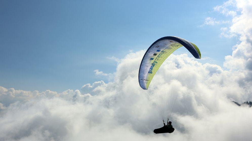 Gleitschirmfliegerin Yvonne Dathe: Abgehoben