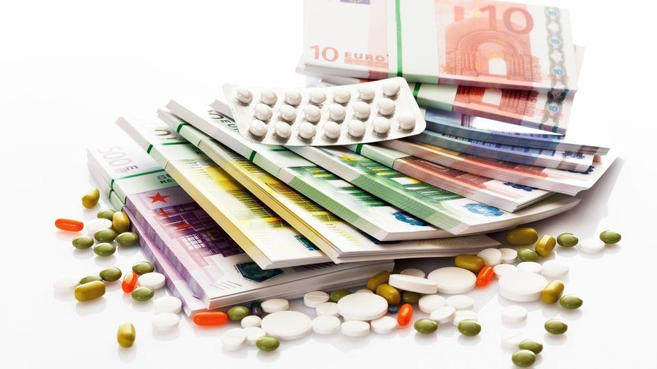 Medikamente: Krankenkassen investierten 2014 mehr als 35 Milliarden Euro