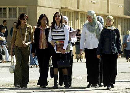 Studentinnen (an der Technischen Universität Bagdad): Prekäre Lage