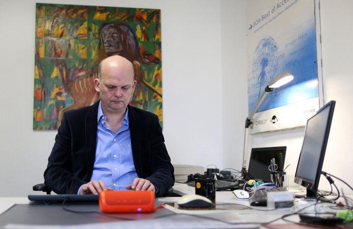 Jan Hellbusch, Webdesigner aus Dortmund
