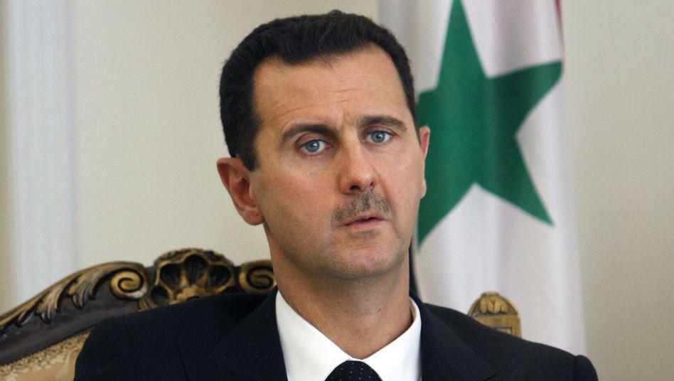 Syriens Präsident Assad: Personenkult um den Herrscher-Clan