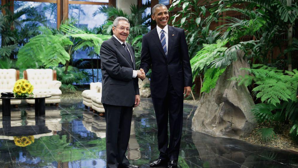 Obama in Kuba: Besuch für die Geschichtsbücher
