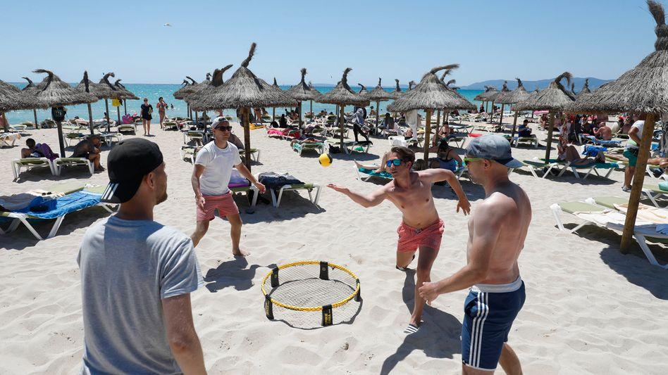 Beliebtes Reiseziel der Deutschen: Mallorca