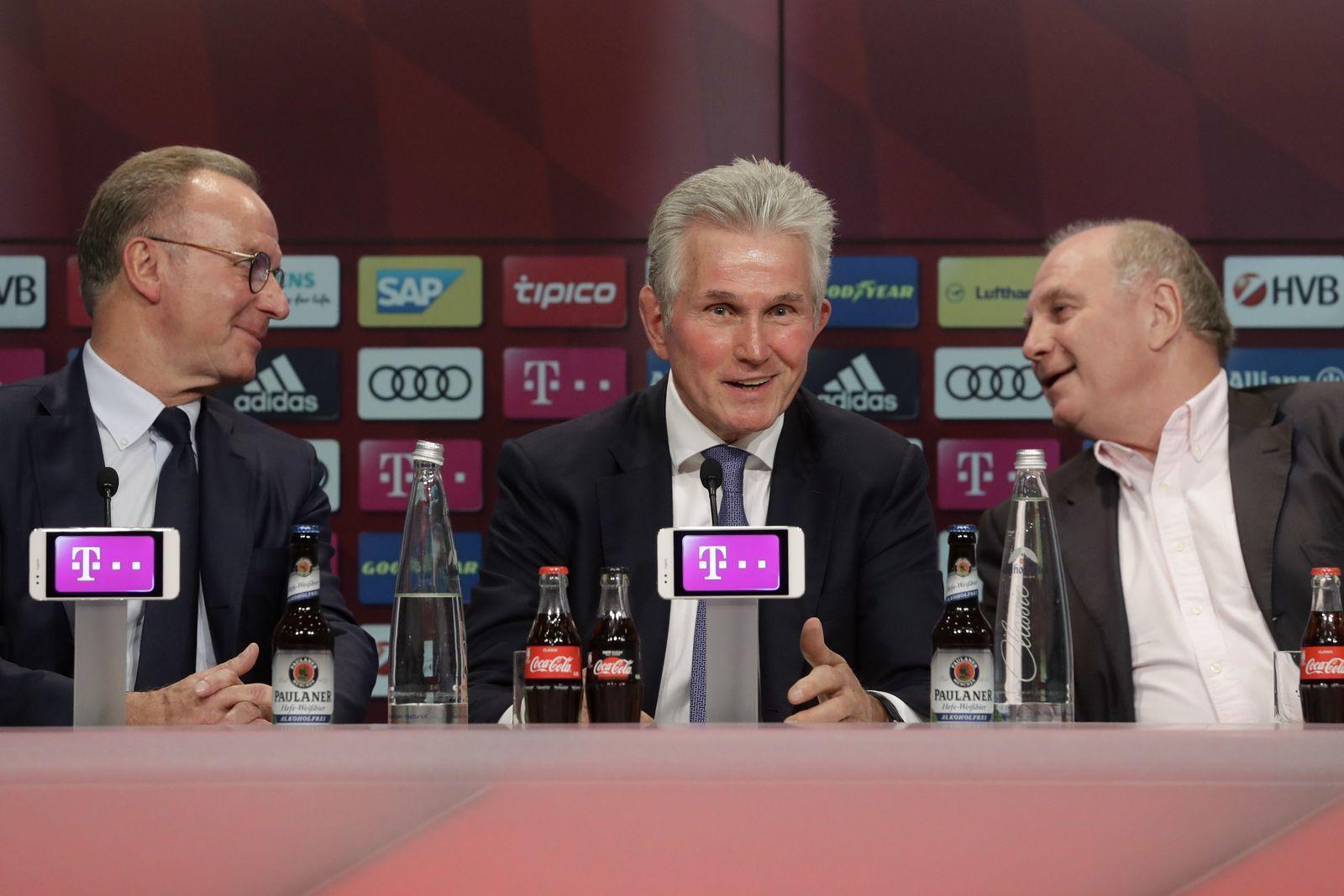 Hoeneß Heynckes Rummenigge FC Bayern
