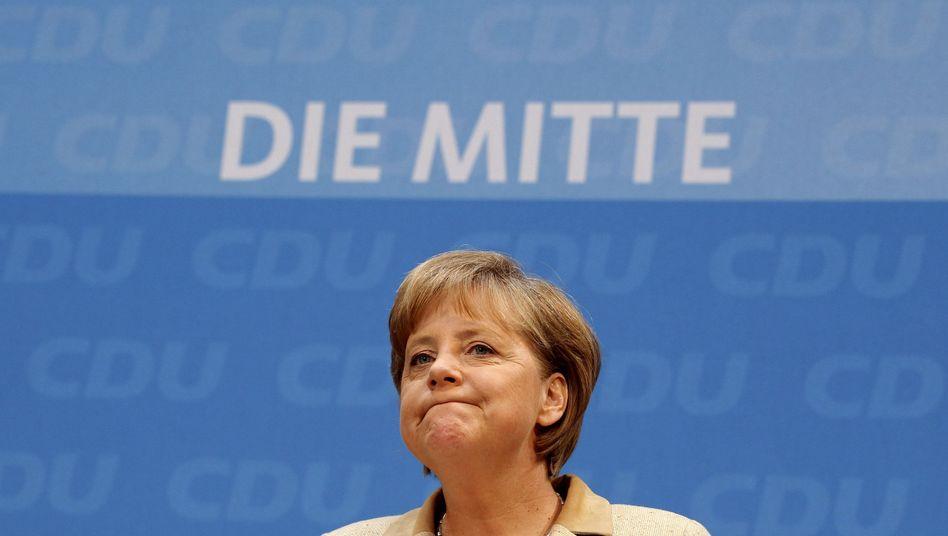 Kanzlerin Merkel: Grüne ausgebremst