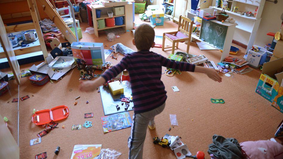 Viel zu viel Spielzeug: Kinder lieben das.