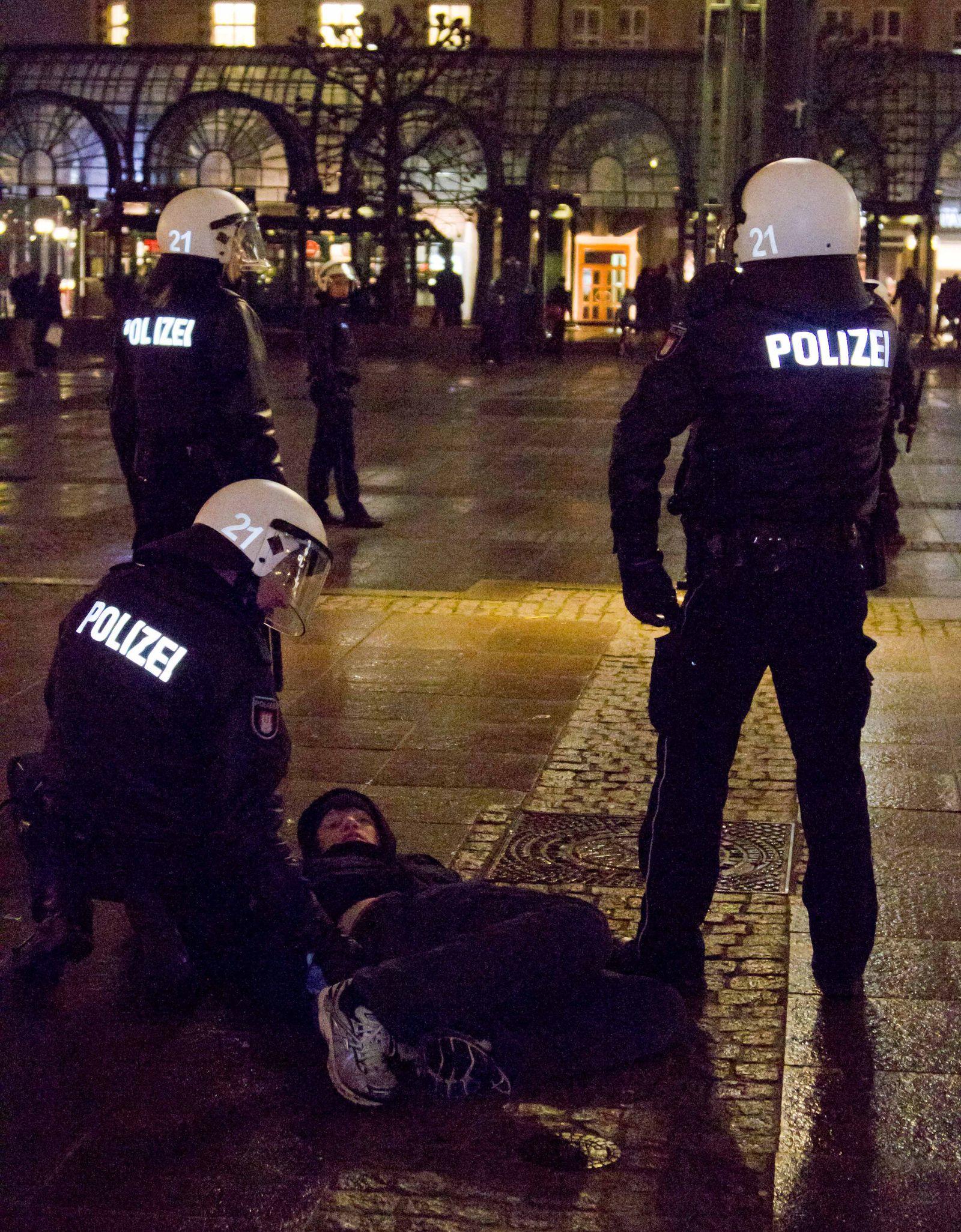 Protest gegen Räumung in Berlin