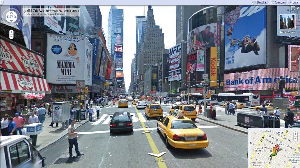 Fototeppich: So sieht Googles Weltmodell aus