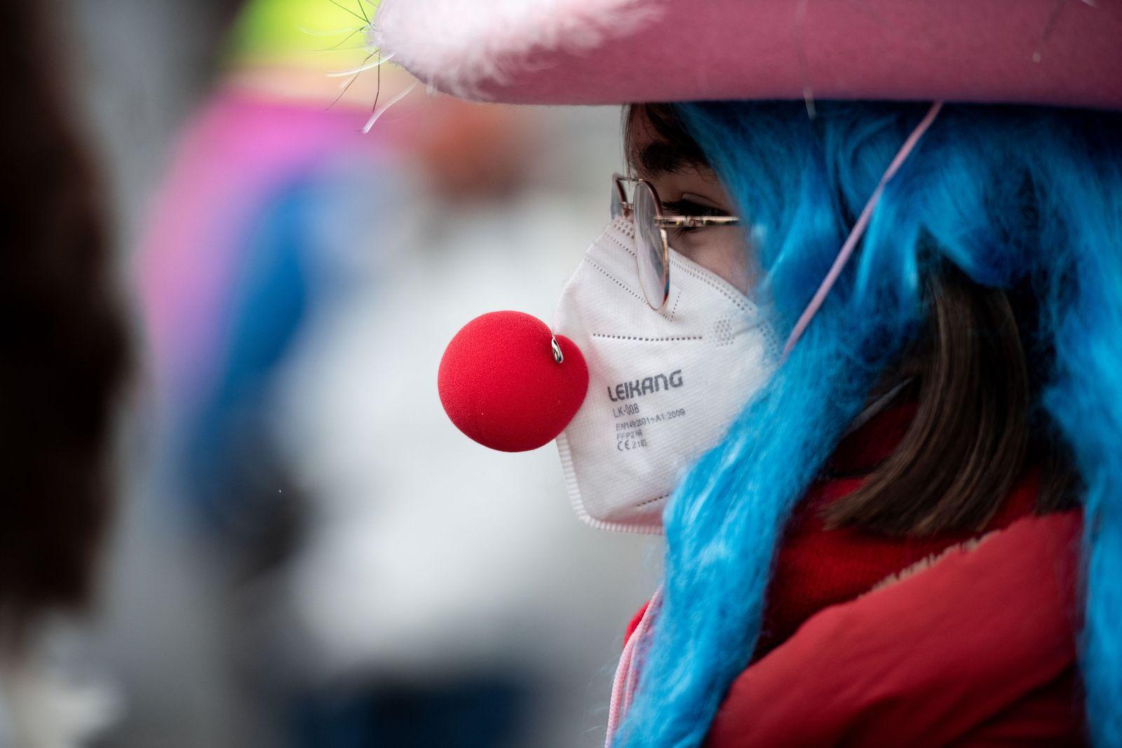 Coronavirus - Karneval in Düsseldorf