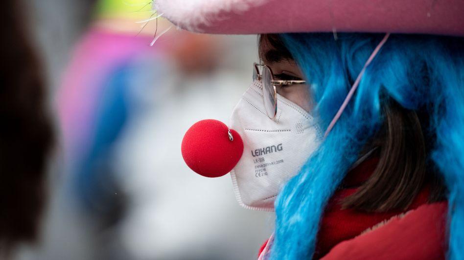 Karneval unter Corona-Bedingungen (Archivbild)
