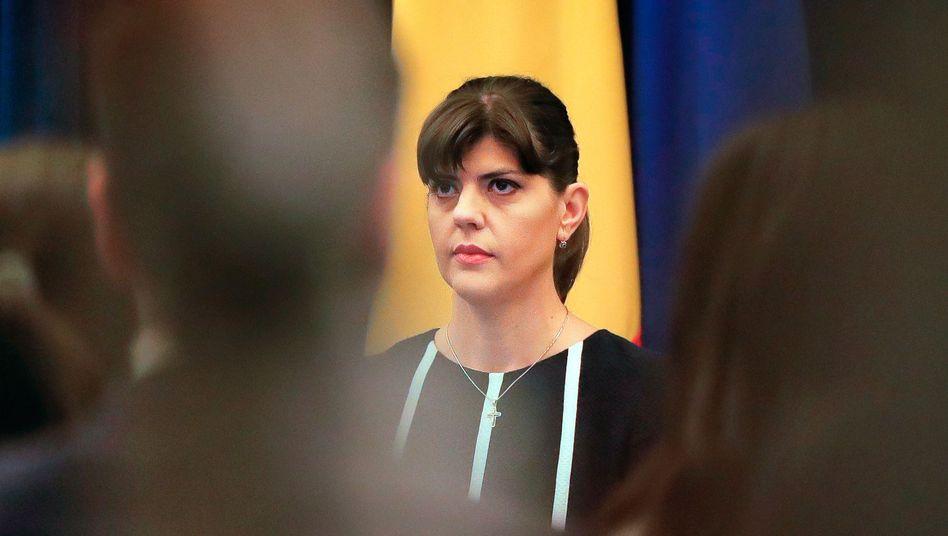 Laura Kövesi: Die Rumänin soll Chefin der Europäischen Staatsanwaltschaft werden
