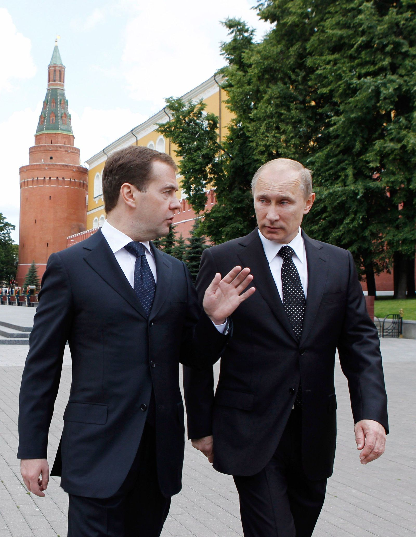 Medwedew/ Putin