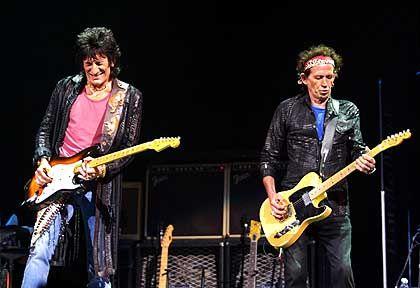 Stones-Gitarristen Wood, Richards