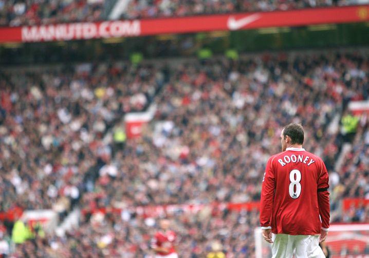 Old Trafford: Von 2004 bis 2017 war das die fußballerische Heimat von Wayne Rooney