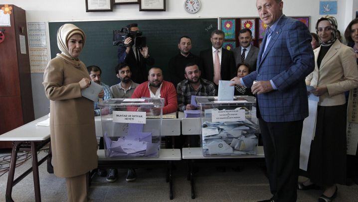 Türkei: Testwahl für Erdogan