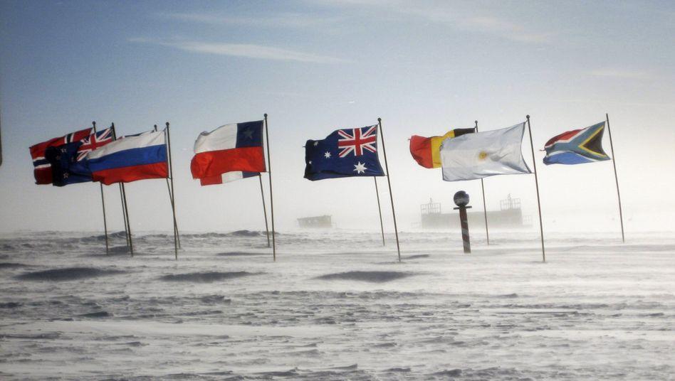 Station am Südpol: Die Spur der Rekordhitze führt in die Tropen