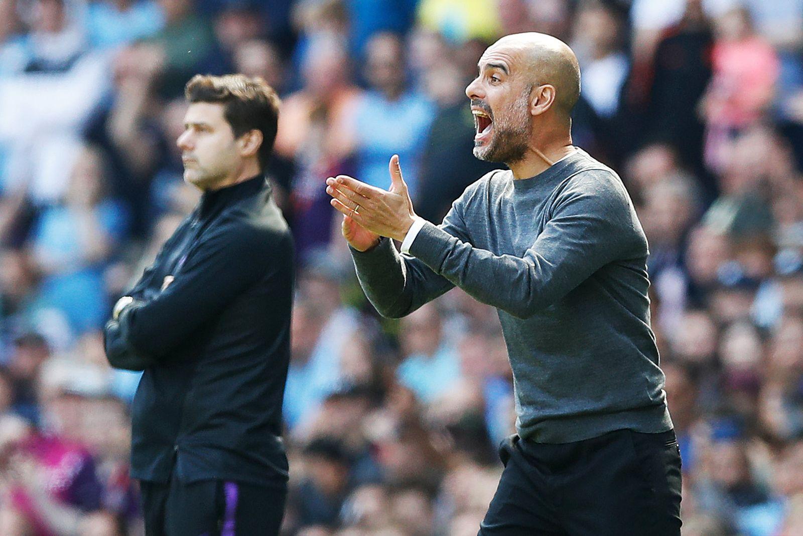 Manchester City v Tottenham Hotspur - Premier League - Etihad Sta
