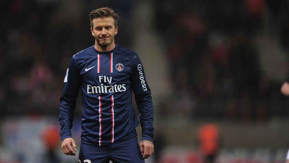 PSG-Star Beckham: Erste Niederlage seit Wechsel nach Frankreich